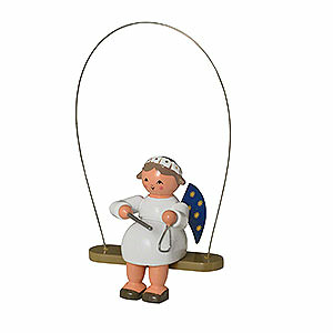 Christbaumschmuck Engel Baumbehang Sonstige Engel Schaukelengel mit Triangel - 8cm
