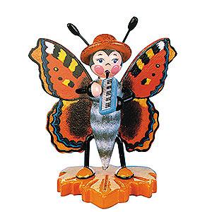 Kleine Figuren & Miniaturen Tiere Käfer Schmetterling Großer Fuchs-Melodika - 8cm