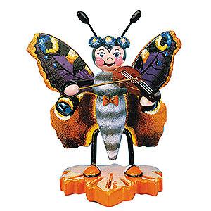 Kleine Figuren & Miniaturen Tiere Käfer Schmetterling Pfauenauge-Geige - 8cm