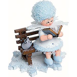 Kleine Figuren & Miniaturen Kuhnert Schneefl�ckchen Schneefl�ckchen Geschichtenerz�hler - 5cm