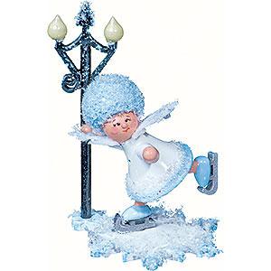 Kleine Figuren & Miniaturen Kuhnert Schneeflöckchen Schneeflöckchen Schlittschuhfahrer - 5 cm