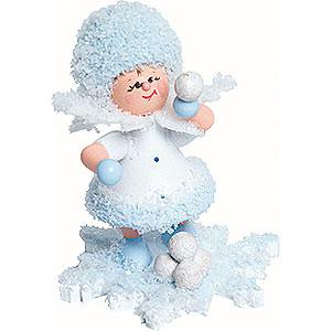 Kleine Figuren & Miniaturen Kuhnert Schneeflöckchen Schneeflöckchen Schneeballschlacht - 5 cm