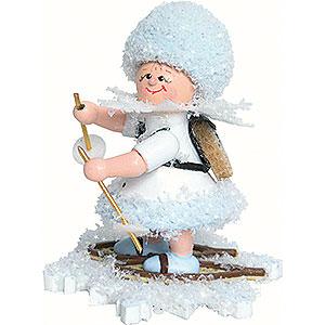 Kleine Figuren & Miniaturen Kuhnert Schneeflöckchen Schneeflöckchen Schneewanderer - 5cm