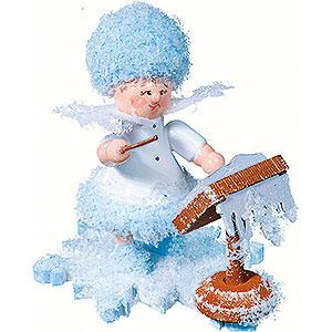 Kleine Figuren & Miniaturen Kuhnert Schneeflöckchen Schneeflöckchen als Dirigent - 5 cm