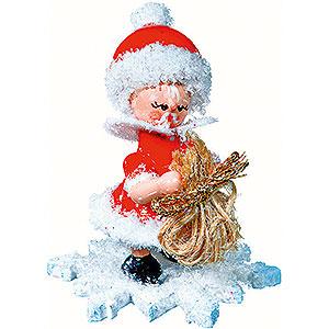 Kleine Figuren & Miniaturen Kuhnert Schneeflöckchen Schneeflöckchen als Weihnachtsmann - 5 cm
