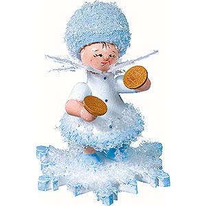 Kleine Figuren & Miniaturen Kuhnert Schneeflöckchen Schneeflöckchen mit Becken - 5cm