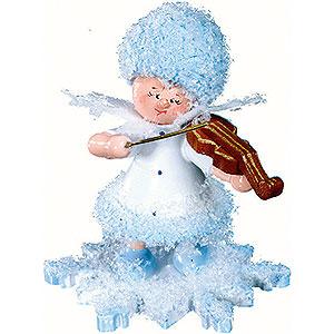 Kleine Figuren & Miniaturen Kuhnert Schneeflöckchen Schneeflöckchen mit Geige - 5cm