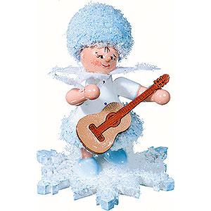 Kleine Figuren & Miniaturen Kuhnert Schneeflöckchen Schneeflöckchen mit Gitarre - 5 cm