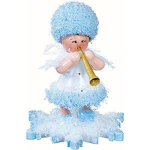 Kleine Figuren & Miniaturen Kuhnert Schneeflöckchen Schneeflöckchen mit Klarinette - 5cm