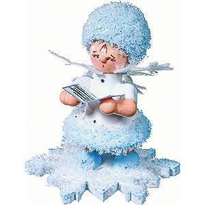 Kleine Figuren & Miniaturen Kuhnert Schneeflöckchen Schneeflöckchen mit Liederbuch - 5cm