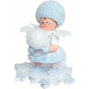 Kleine Figuren & Miniaturen Kuhnert Schneeflöckchen Schneeflöckchen mit Schneekugel - 5cm