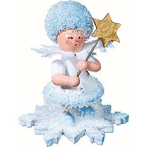 Kleine Figuren & Miniaturen Kuhnert Schneefl�ckchen Schneefl�ckchen mit Stern - 5cm
