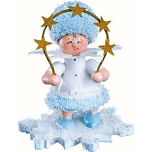 Kleine Figuren & Miniaturen Kuhnert Schneeflöckchen Schneeflöckchen mit Sternenbogen - 5cm
