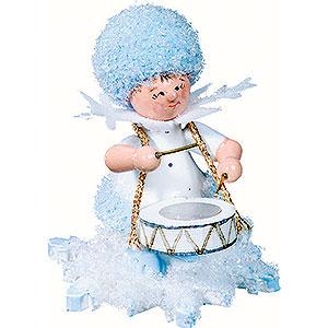 Kleine Figuren & Miniaturen Kuhnert Schneeflöckchen Schneeflöckchen mit Trommel - 5cm