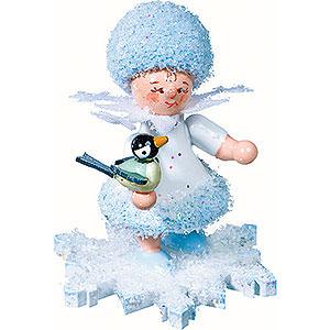 Kleine Figuren & Miniaturen Kuhnert Schneeflöckchen Schneeflöckchen mit Vögelchen - 5cm