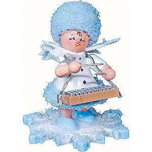 Kleine Figuren & Miniaturen Kuhnert Schneefl�ckchen Schneefl�ckchen mit Xylophon - 5cm