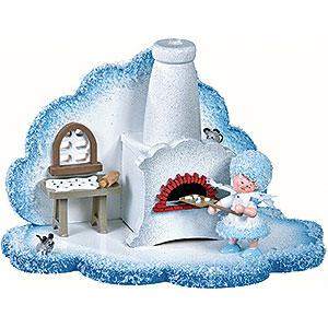 Kleine Figuren & Miniaturen Kuhnert Schneeflöckchen Schneeflöckchens Weihnachtsbäckerei - 14,5x8,5x9cm