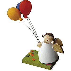 Weihnachtsengel Günter Reichel Schutzengel Schutzengel mit 3 Luftballons - 3,5cm