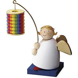 Weihnachtsengel Günter Reichel Schutzengel Schutzengel mit Faltlampion - 3,5cm