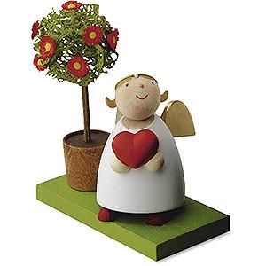 Bestseller Schutzengel mit Herz und Bäumchen - 3,5cm