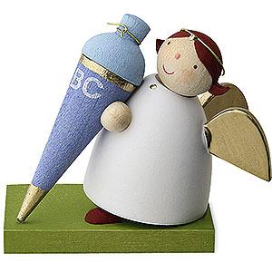 Weihnachtsengel G�nter Reichel Schutzengel Schutzengel mit Schult�te - Junge - 3,5cm