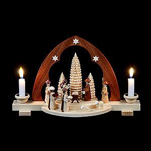 Schwibbögen Alle Schwibbögen Schwibbogen - Christi Geburt - 30 cm