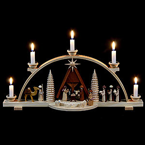 Schwibbögen Alle Schwibbögen Schwibbogen - Christi Geburt - 47 cm