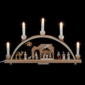 Schwibbögen Alle Schwibbögen Schwibbogen Christi Geburt - 48x28 cm