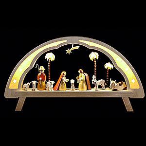 Schwibbögen Alle Schwibbögen Schwibbogen Christi Geburt - 58x31 cm