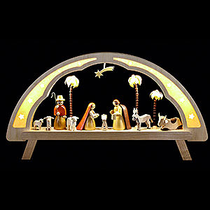 Schwibb�gen Alle Schwibb�gen Schwibbogen Christi Geburt - 58x31cm