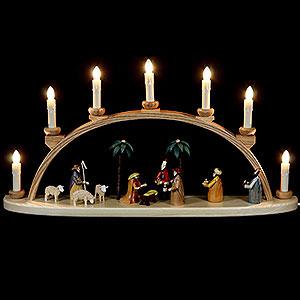 Schwibbögen Alle Schwibbögen Schwibbogen - Christi Geburt - 60 cm
