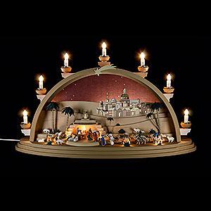 Schwibbögen Alle Schwibbögen Schwibbogen Christi Geburt - 75x42x20cm