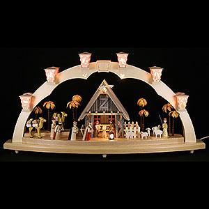 Schwibbögen Alle Schwibbögen Schwibbogen Christi Geburt - 80x41 cm