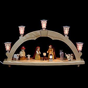 Schwibb�gen Alle Schwibb�gen Schwibbogen Geburt - elektrisch beleuchtet - 48 cm