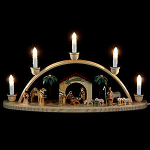 Candle Arches All Candle Arches Schwibbogen - The Crib - 50 cm / 24 inch