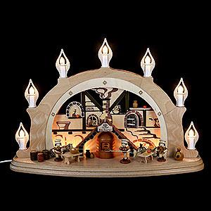 Schwibbögen Alle Schwibbögen Schwibbogen Weihnachtsbäckerei - 57x38x15cm