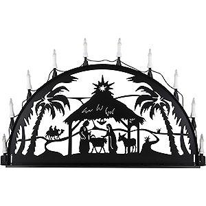 Schwibbögen Alle Schwibbögen Schwibbogen für Außen Christi Geburt - 100-300 cm