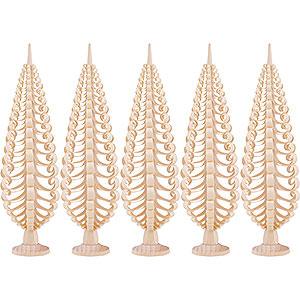 Kleine Figuren & Miniaturen Spanbäume Spanbäume (Seiffener Vk.) Seiffener Spanbaum 5er Set - 20cm