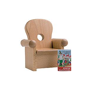 Räuchermänner Kantenhocker von KWO Sessel - 16 cm