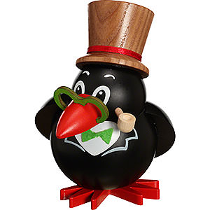 Smokers Animals Smoker Ball Figur Smoker Bird - 12 cm / 5 inch