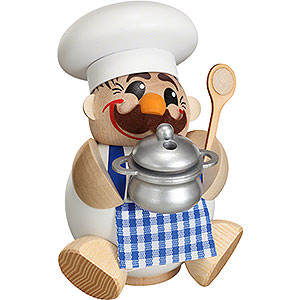 Smokers Professions Smoker Ball Figur Smoker Cook - 12 cm / 5 inch