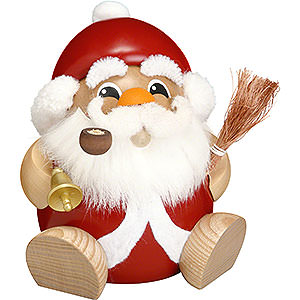 Smokers Santa Claus Smoker - Ball Figure Santa Claus - 18 cm / 7 inch