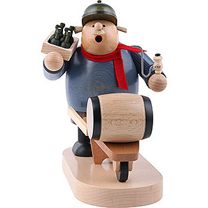 Smokers Professions Smoker Beer salesman - 19 cm / 7 inch