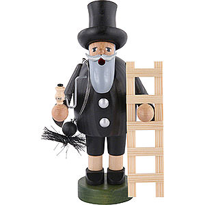 Smokers Professions Smoker Chimney sweeper with ladder - 18 cm / 7 inch