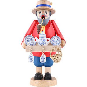 Smokers Professions Smoker - China Salesman - 18 cm / 7 inch