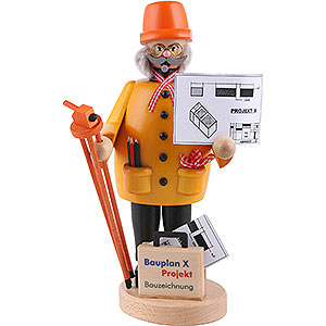 Smokers Professions Smoker - Construction Manager - 22 cm / 8.7 inch