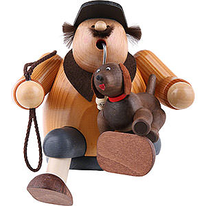 Smokers Hobbies Smoker Dog lover - 16cm / 6 inch