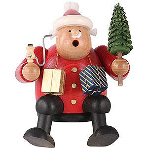 Smokers Santa Claus Smoker - Edge Stool - Santa Claus - 15 cm / 6 inch