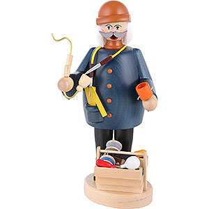 Smokers Professions Smoker - Electrician - 22 cm / 9 inch