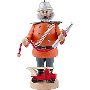 Smokers Professions Smoker Firefighter - 21cm / 8 inch
